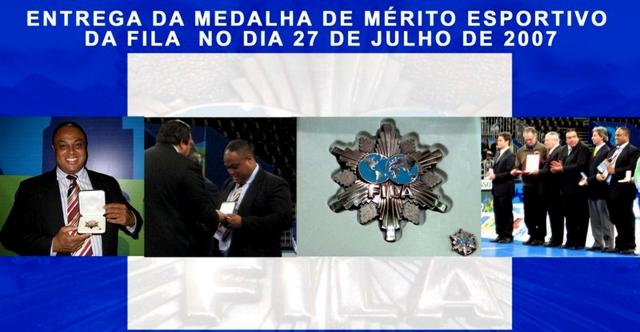 Joanilson Rodrigues recebe Medalha de Mérito Internacional No Pan 2007